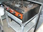 Продам б.у. плиту газовую промышленную 4-х конфорочную настольную