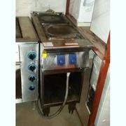Продам плиту бу профессиональную электрическую 2-х конфорочную