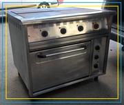 Плита электрическая с духовкой промышленная профессиональная б/у